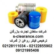 ترخیص فیلتر روغن از گمرک