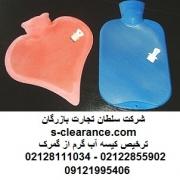 ترخیص کیسه آب گرم از گمرک