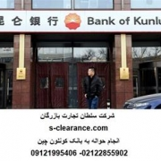 حواله یوان و یورو در بانک KUNLUN چین