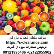 ترخیص صادرات میوه از گمرک